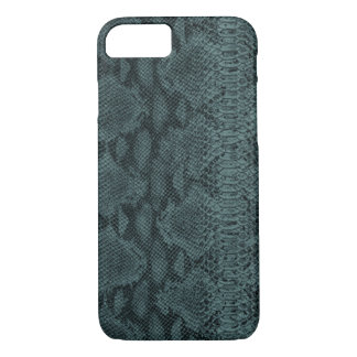 Snake Skin Leather iPhone 7 Case