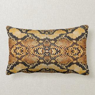Snake Skin Lumbar Pillow