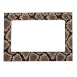 Snake skin magnetic frame