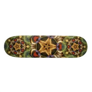 Snake skin mandala - Skateboard