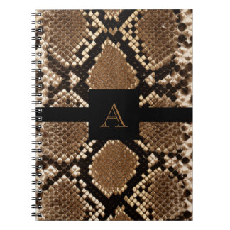 Snake Skin Note Book