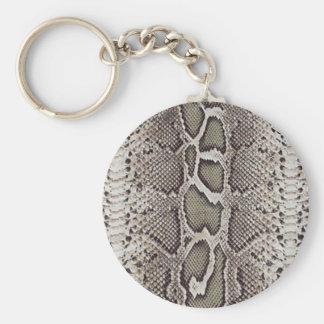 Snake Skin Pattern Keychains