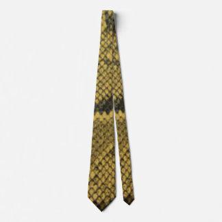 Snake Skin Pattern Print Design Tie