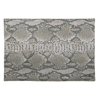 Snake Skin Placemat Cloth Place Mat