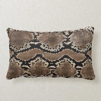 Snake Skin Print Accent Pillow