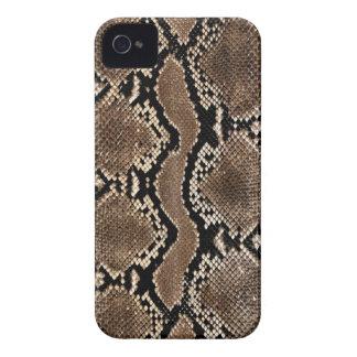 Snake Skin Print iPhone 4 Case