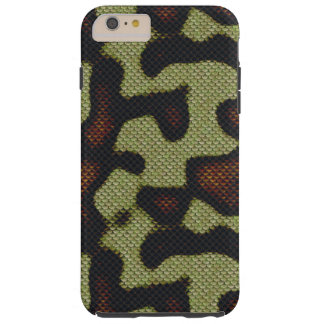 Snake-skin Scales Camouflage Nature Pattern Tough iPhone 6 Plus Case