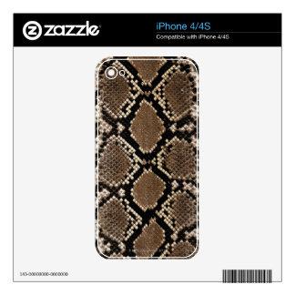 Snake Skin Skin For The iPhone 4