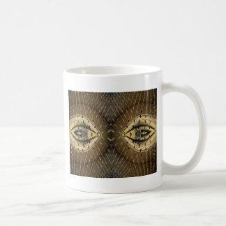 Snake Skin Snake Eyes Design Mug