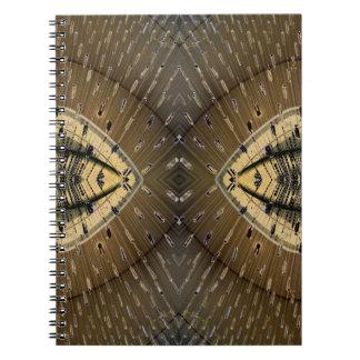 Snake Skin Snake Eyes Design Notebooks