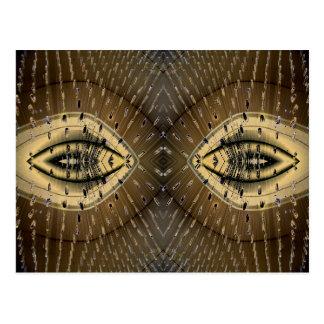 Snake Skin Snake Eyes Design Postcard