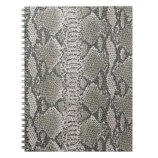 Snake Skin Spiral Notebook