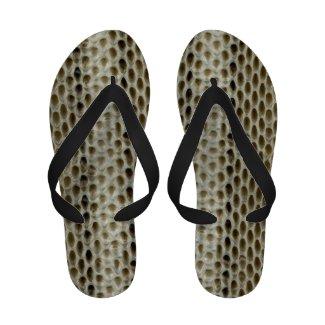 Snake Skin Texture - Reptile Skin Flip Flops