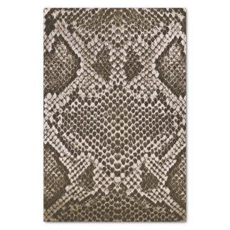 Snake skin tissue paper
