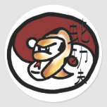 Snake Style Kung Fu Stickers