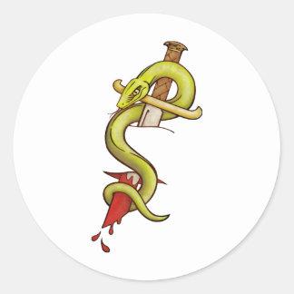 Snake Tattoo transparent background Stickers