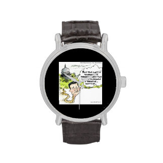 Snake Ted Cruz Slithers From Congress Funny Watch Wrist Watch