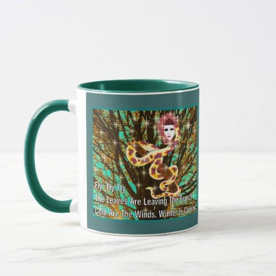 Snake Woman Mug