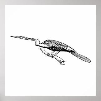 Snakebird Art Poster