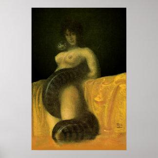 SnakeGrl Poster 16x24