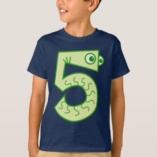Snakes ALIVE I'm 5 BIRTHDAY Tees