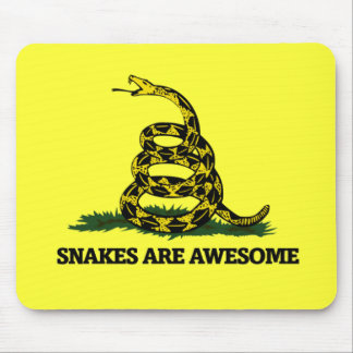 Snakes are Awesome Mouse Pad