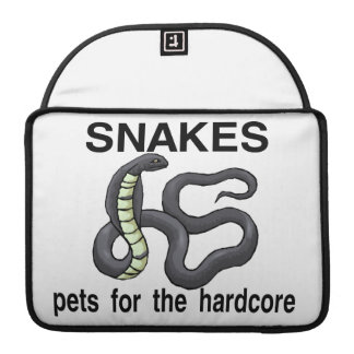 Snakes Are Pets For The Hardcore MacBook Pro Sleeve