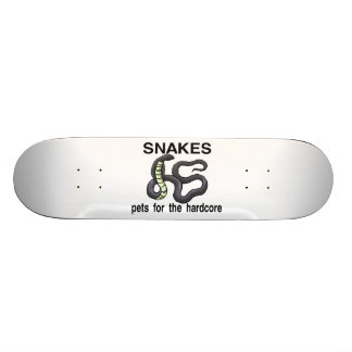 Snakes Are Pets For The Hardcore Skateboard Deck