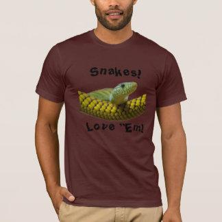 "Snakes I Love""Em T-Shirt"