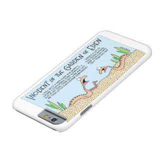 Snakes in the Garden of Eden Barely There iPhone 6 Case