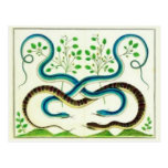 Snakes Postcard