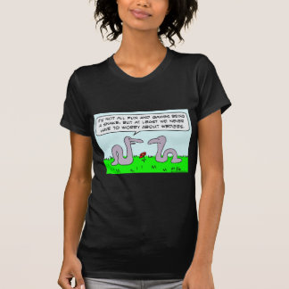 snakes worry about wedgies fun games t-shirts