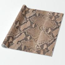 Snakeskin Animal Print Wrapping Paper