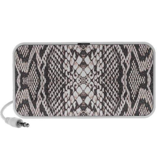 Snakeskin Background Portable Speaker