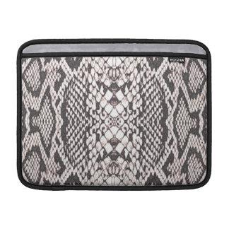 Snakeskin Background Sleeve For MacBook Air