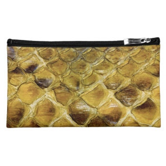 Snakeskin Cosmetics Bags