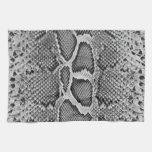 Snakeskin design, Snake Skin Print Pattern Kitchen Towel