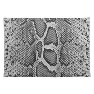 Snakeskin design, Snake Skin Print Pattern Cloth Place Mat
