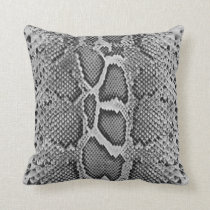 Snakeskin design, Snake Skin Print Pattern Throw Pillow