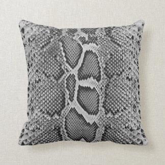 Snakeskin design, Snake Skin Print Pattern Throw Pillow