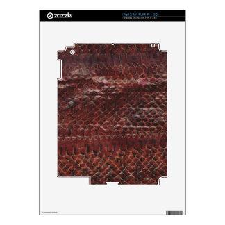 Snakeskin Effect iPad 2 Decals