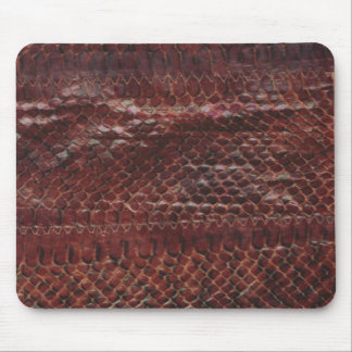 Snakeskin Effect Mouse Pad