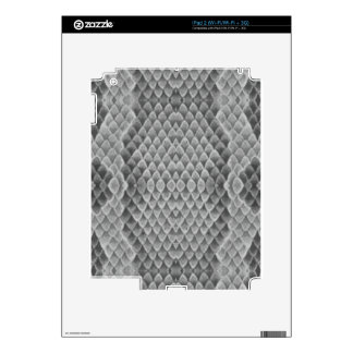 Snakeskin gris iPad 2 skins