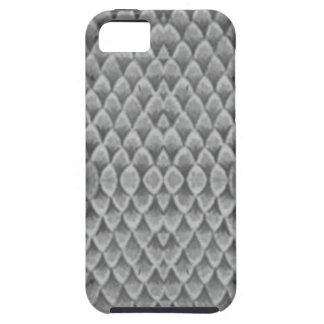Snakeskin gris iPhone 5 cárcasas