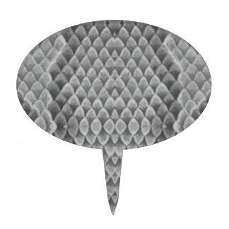 Snakeskin gris palillos de tarta