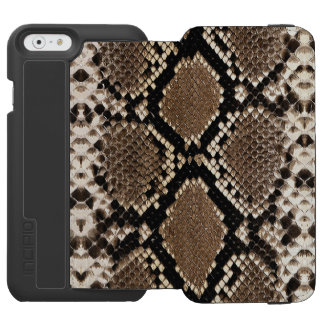"""SNAKESKIN"" iPHONE 6 WALLET CASE"