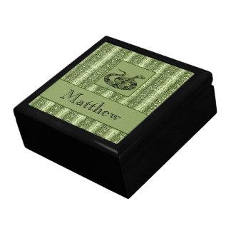 Snakeskin personalizó la caja de la baratija cajas de joyas