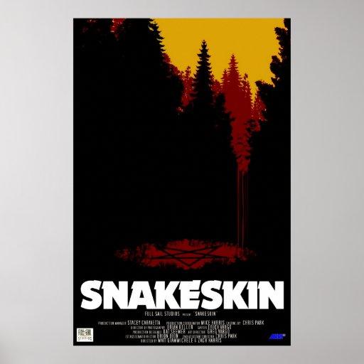 Snakeskin Póster