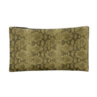 """Snakeskin Print"" Bagettes Bag Cosmetic Bag"