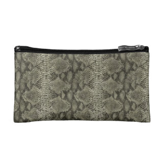 """Snakeskin Print""Bagettes Bag Cosmetic Bag"